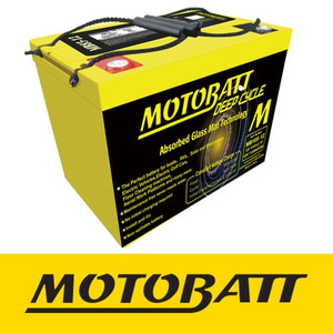 [예약상품] 캠핑용 MB105-12 Motobatt 12V AGM Deep Cycle Battery