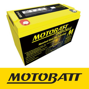 [예약상품] 캠핑용 MB120-12 Motobatt 12V AGM Deep Cycle Battery